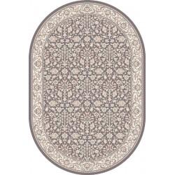 Ovális gyapjú szőnyeg Itamar antracytowy - 1