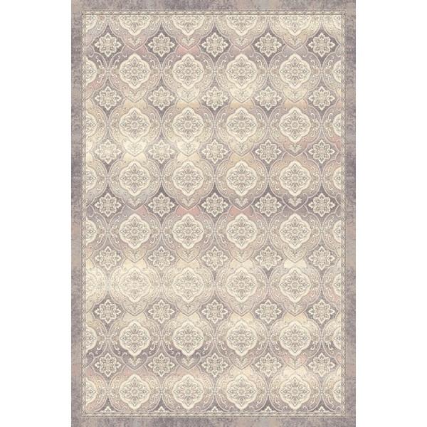 Karmenta gyapjú szőnyeg virágok és formák - 1
