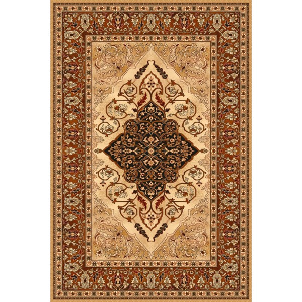 Leyla borostyán gyapjú szőnyeg - 1