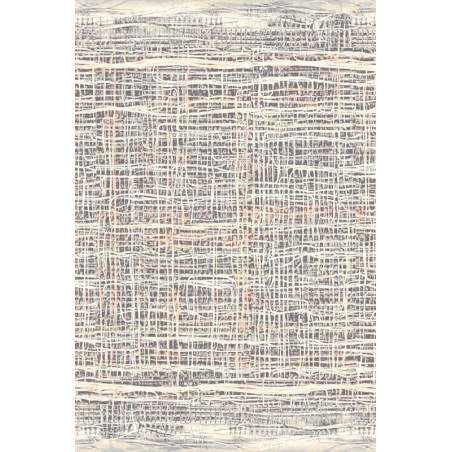 Ruts tarka gyapjú szőnyeg vonalakkal - 1