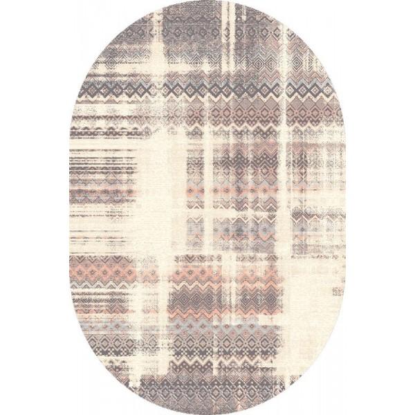 Tadea törölve ovális gyapjú szőnyeg - 1