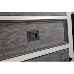 Vitrina lemn cu usa din sticla - 3