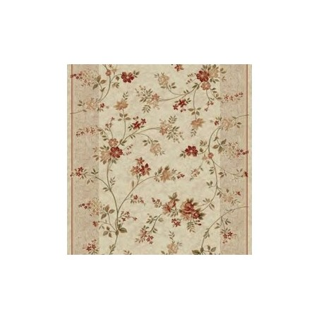 Traversa hol sau bucatarie nuante crem cu flori - 1