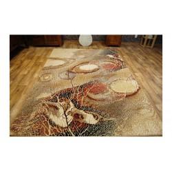 Bellona gyapjú szőnyeg absztrakt természet borostyán - 2