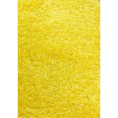 Modern sárga bolyhos szőnyeg - 1