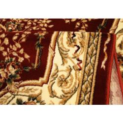 Gesztenyebarna szőnyeg medalionnal 568 - 2