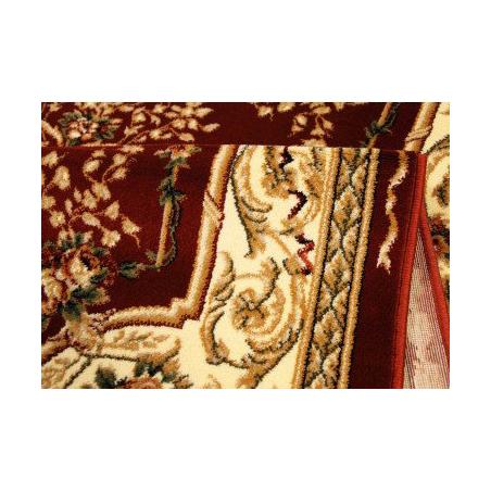 Gesztenyebarna szőnyeg medalionnal 568 - 1