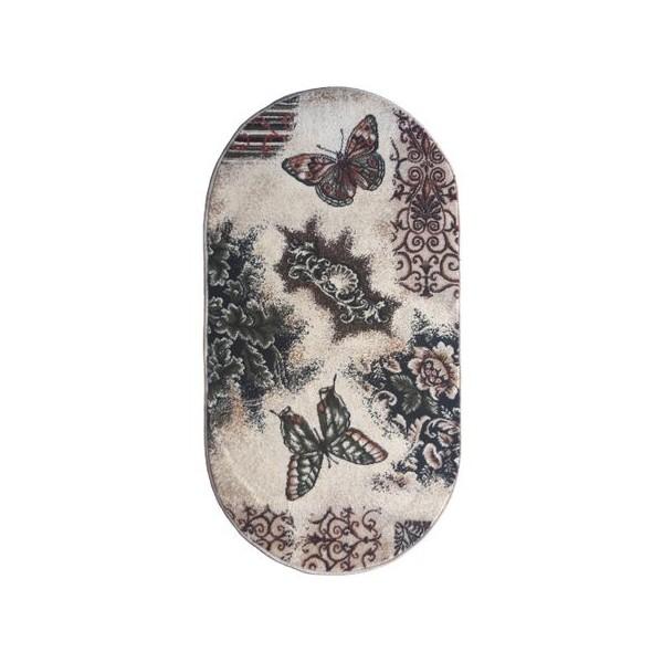 Modern ovális Lotus pillangószőnyeg 1607 - 3