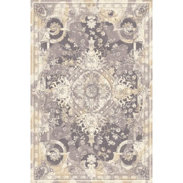 Villah gyapjú szőnyeg, homok színű - 1