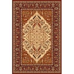 Leyla terrakotta gyapjú szőnyeg - 1