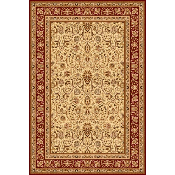 Klimene krém gyapjú szőnyeg - 1