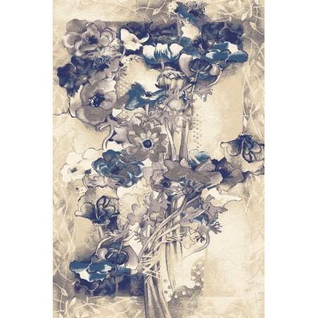 Walencja kék gyapjú szőnyeg - 1