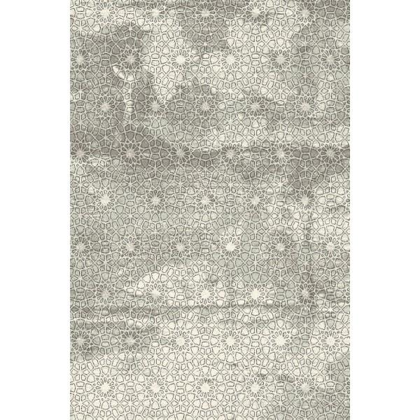 Rafes antracit gyapjú szőnyeg - 1