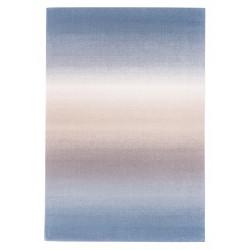 Ombre gyapjú szőnyegek kék - 1