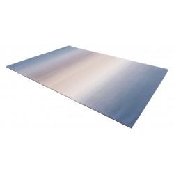 Ombre gyapjú szőnyegek kék - 2