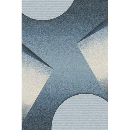 Karioka gyapjú szőnyegek kék - 1