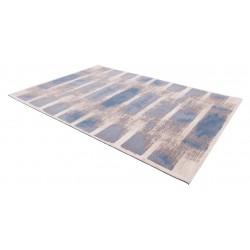 Hajra gyapjú szőnyegek világoskék - 2