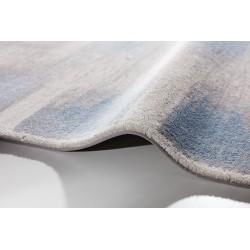 Hajra gyapjú szőnyegek világoskék - 3