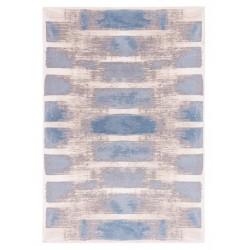 Hajra gyapjú szőnyegek világoskék - 1