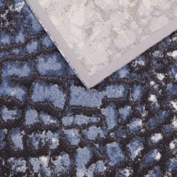 Inconnus gyapjú szőnyegek kék - 4