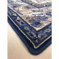 Sötétkék Hathor gyapjú szőnyeg - 3