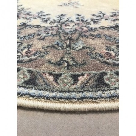 Dafne alabástrom gyapjú ovális szőnyeg - 1