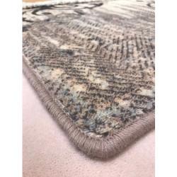 Aneto kék gyapjú szőnyeg letörölt - 3