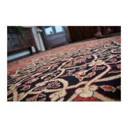 Leyla ovális gyapjú szőnyeg rubin színű - 2